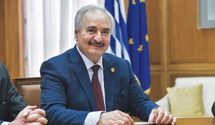 Ο Λίβυος στρατάρχης Χαλίφα Χαφτάρ